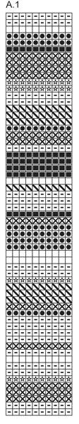 """Gehaakte DROPS deken met zigzag patroon van """"Karisma"""". ~ DROPS Design"""