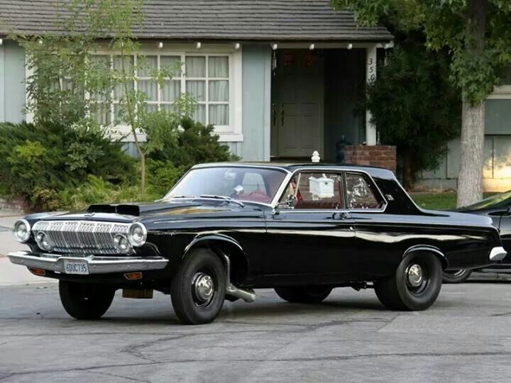 Black Beauty 63 Dodge 330 Dodge 330 Max Wedge Pinterest