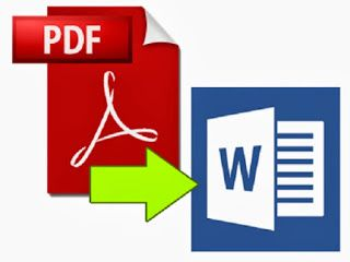 Perform precise conversion of PDF file to Word format