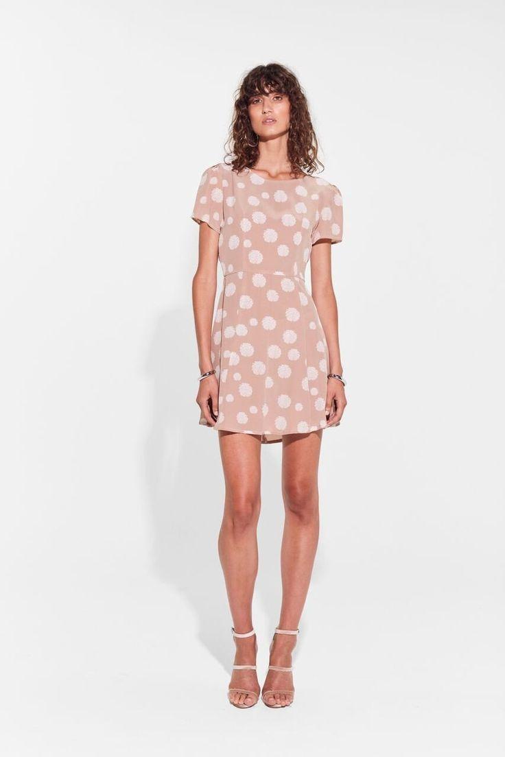 SIR the label - Isla Tie Back Mini Dress