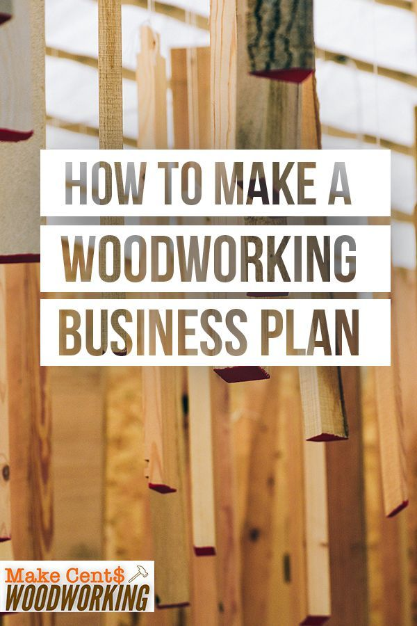 How (and Why) to Make a Woodworking Business Plan | Learn ...