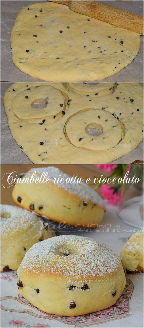 Ciambelle ricotta e cioccolata