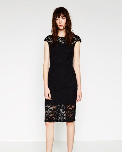 lace shift dress etuikleid kleider fuer frauen spitzenkleid