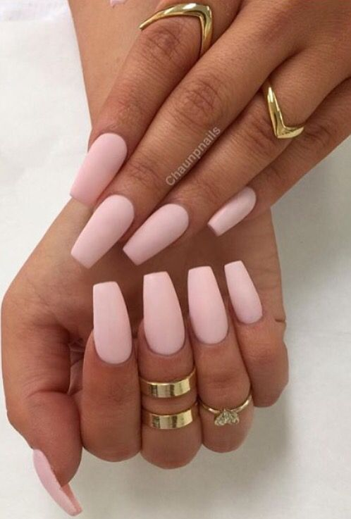 Love this nail color. - 25+ Beautiful Light Pink Nails Ideas On Pinterest Light Nails