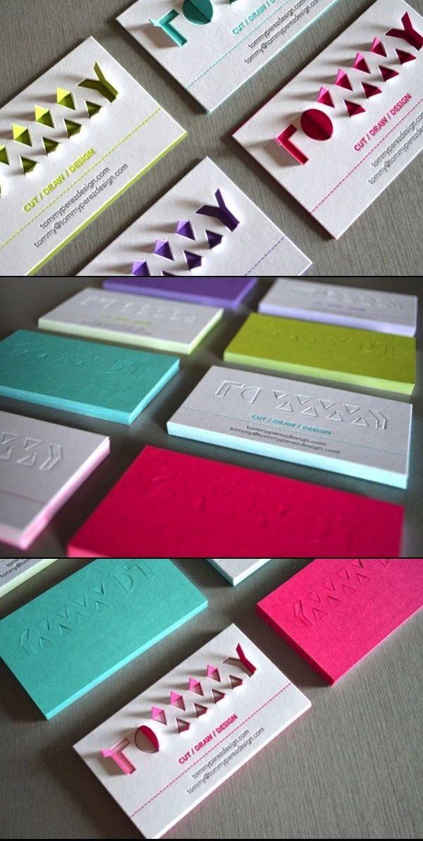 tarjetas de visita creativas 3 - Vivir Creativamente