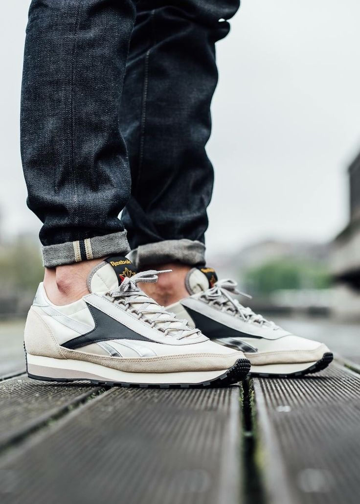 buty reebok classic leather white men