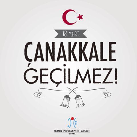 Çanakkale Zaferi destanını yazan başta Gazi Mustafa Kemal Atatürk olmak üzere Mehmetçiklerimizi, Gazilerimizi ve Aziz şehitlerimizi rahmet ve minnetle anıyoruz.  #HumanManagementGroup #HMG #18Mart #ÇanakkaleZaferi