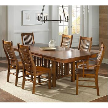 Santeelah 7 Piece Dining Set Dining Table And Chairs