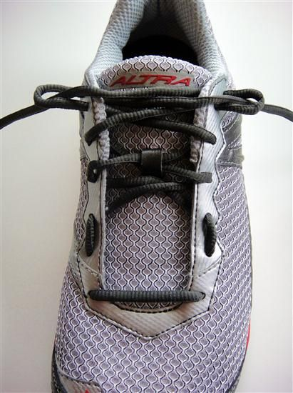 Here's the original article that I read on changing lace technique. Has worked out well for me with my LunarGlide+ 3 shoes.