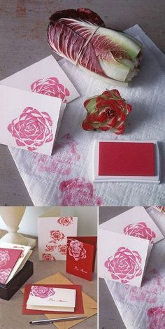 Stamp with Vegetables (Cool Crafts With Paint)