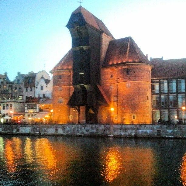 Photo by gdansk_official | #gdansk #zuraw #motlawa