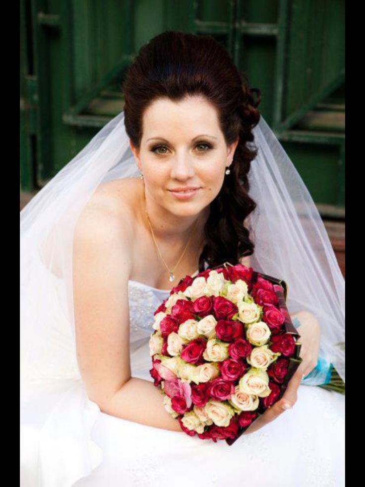 Bridal hair!