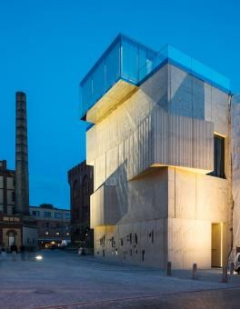 Museum for architectural drawings of the Tchoban Foundation by SPEECH