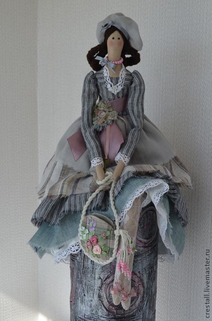 Куклы Тильды ручной работы. Ярмарка Мастеров - ручная работа Кукла Манон (Возлюбленная). Handmade.