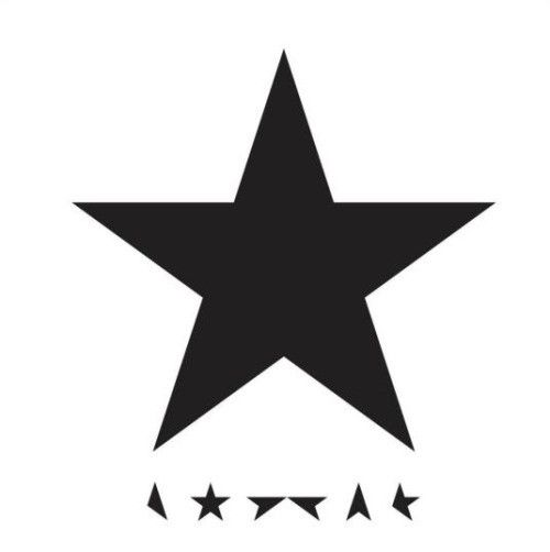 """David Bowie - Blackstar (★) Jonathan Barnbrook's artwork for David Bowie album Blackstar. Barnbrook says Bowie was """"very closely involved"""" in the process. """"There is a lot of discussion about the concepts behind the songs and the artwork. In this instance we met and listened to the album together in New York and started to bounce ideas off each other, and it developed from that. This process takes about three months of intense emailing""""....K"""