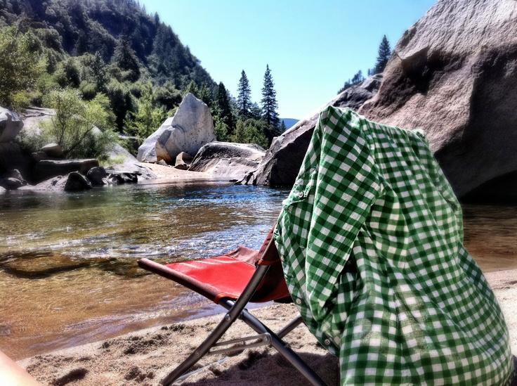 Swimming Hole Yosemite Sabbatical Fall 2011