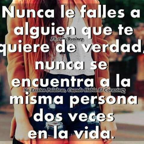 No falles