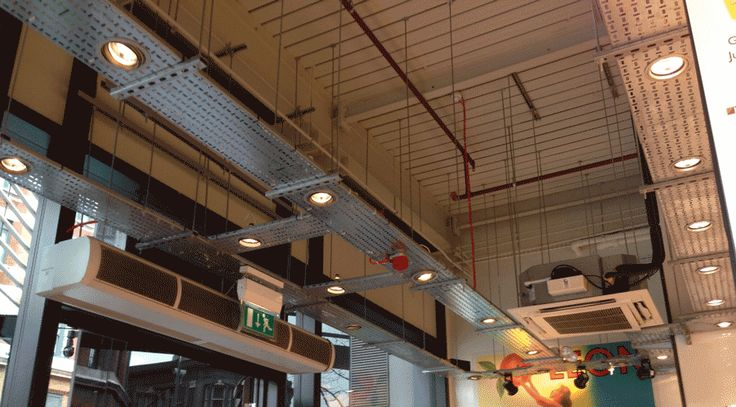 Ceiling Cable Tray: Exposed Services Cable Ducting - Google Search