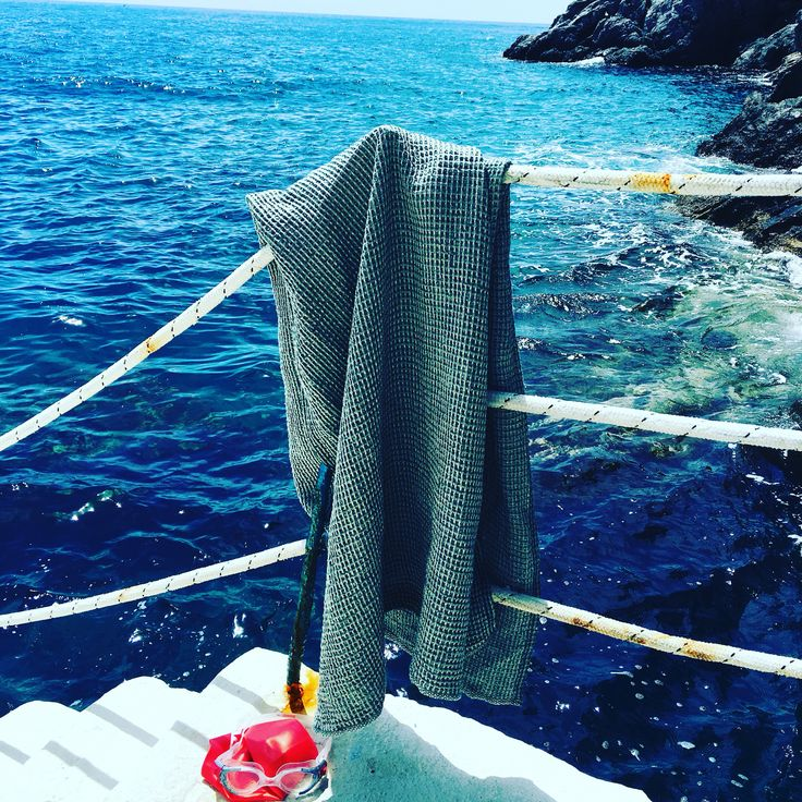 Linen bath towel from Växbo Lin. Made in Sweden
