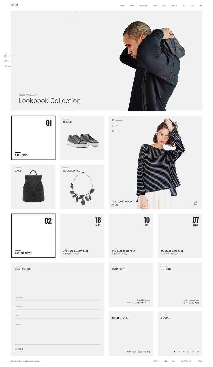 """BETTER"" Minimal Shop by Hoa Nguyen | dribbble"