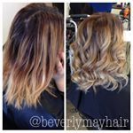 fresh colour ready for the weekend   Hairdresser Sally lakme ombre