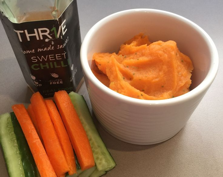 Sweet potato, coriander and sweet chilli dip. An essential dish to take to this weekends Easter festivities.