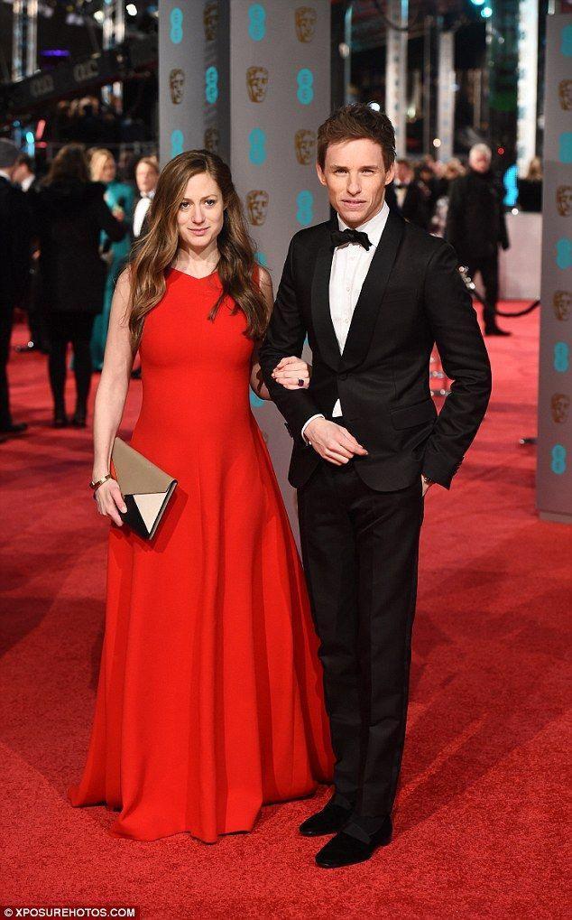 2016 BAFTA Awards - Hannah Bagshawe and Eddie Redmayne - February 14, 2016