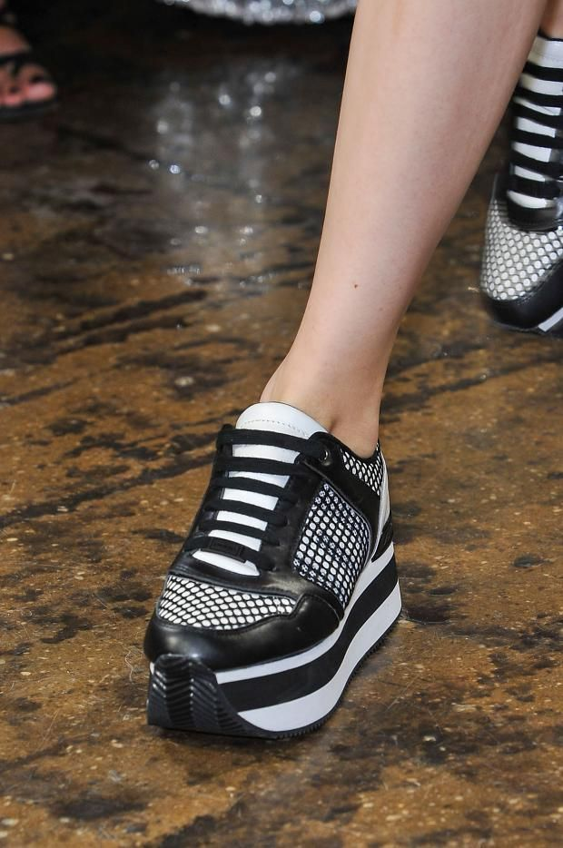 shoes @ DKNY Spring 2015