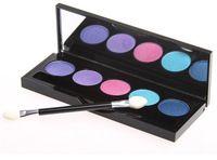 Nueva placa de la sombra de ojos maquillaje de la marca de 5 colores 28 bob placa sombra delicada ojo perfecto maquillaje desnudo multicolor maquillaje de larga duración