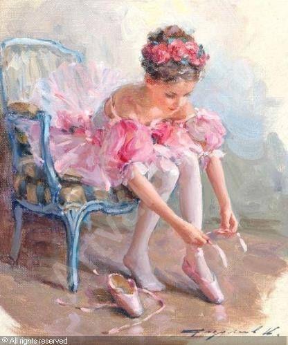 Beautiful painting by Kostantiin Razumov ... ballet art