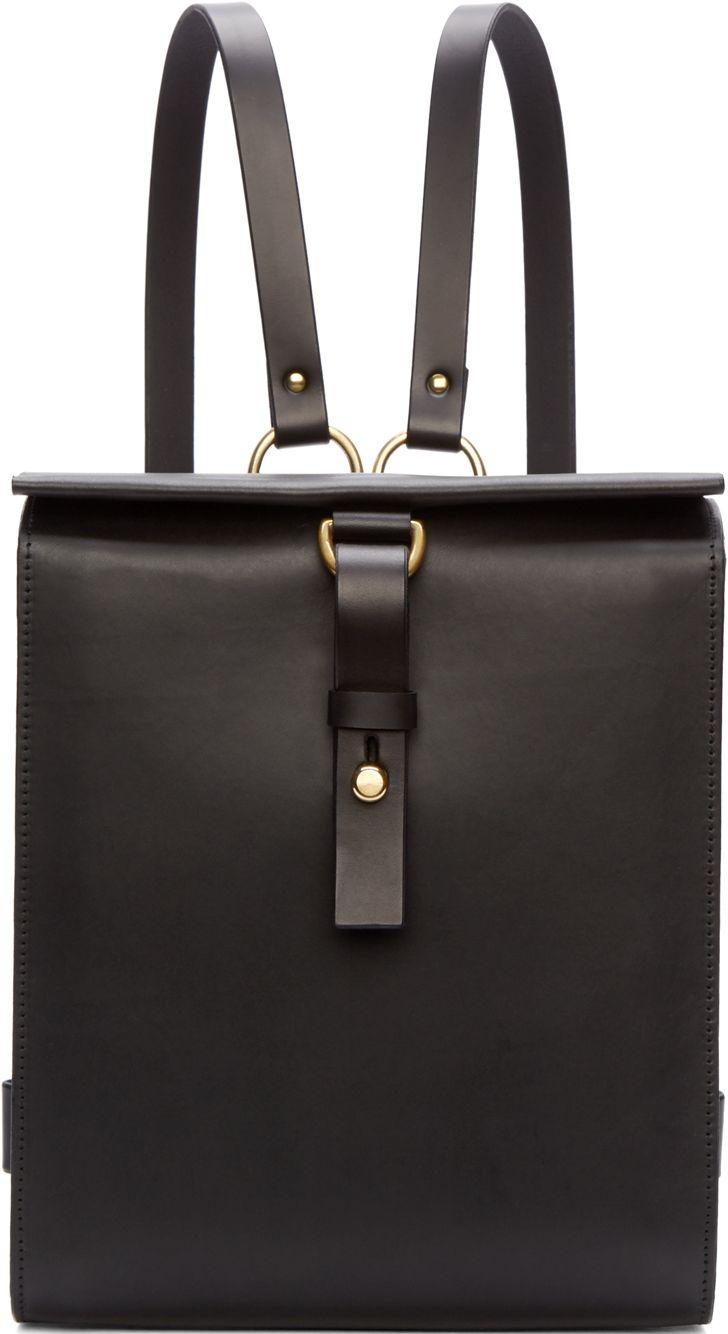 •Website: http://www.cuteandstylishbags.com/portfolio/fleet-ilya-black-leather-medium-harness-backpack/ •Bag: Fleet Ilya Black Leather Medium Harness Backpack