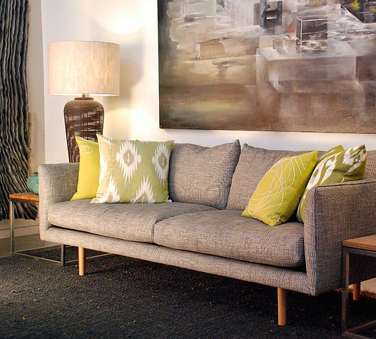 beautiful couch, love the pillows too