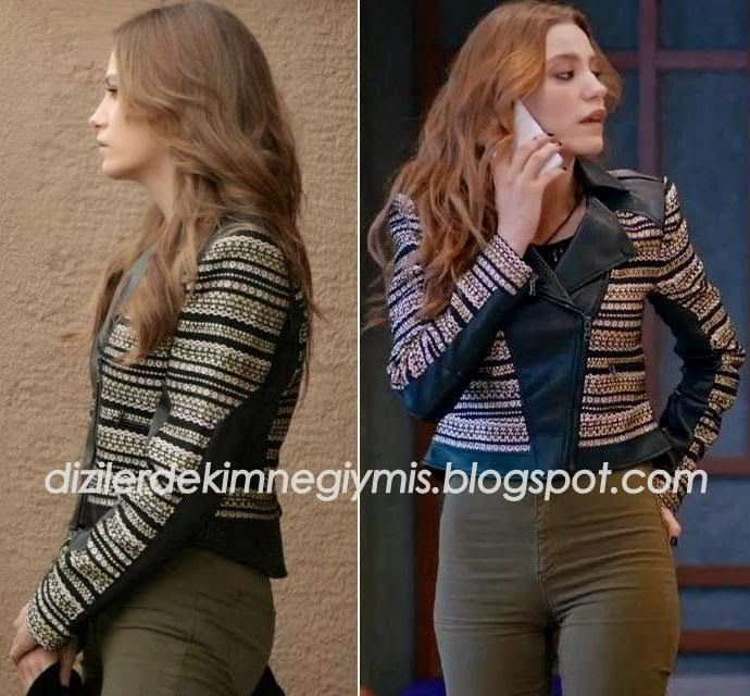 Medcezir - Mira (Serenay Sarıkaya), BCBG Jacket please follow me,thank you i will refollow you later