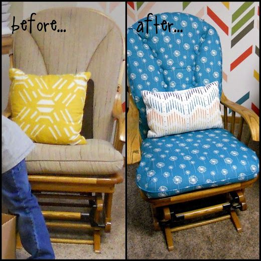 Just Another Hang Up: Recovering Cushions for a Glider Rocker...
