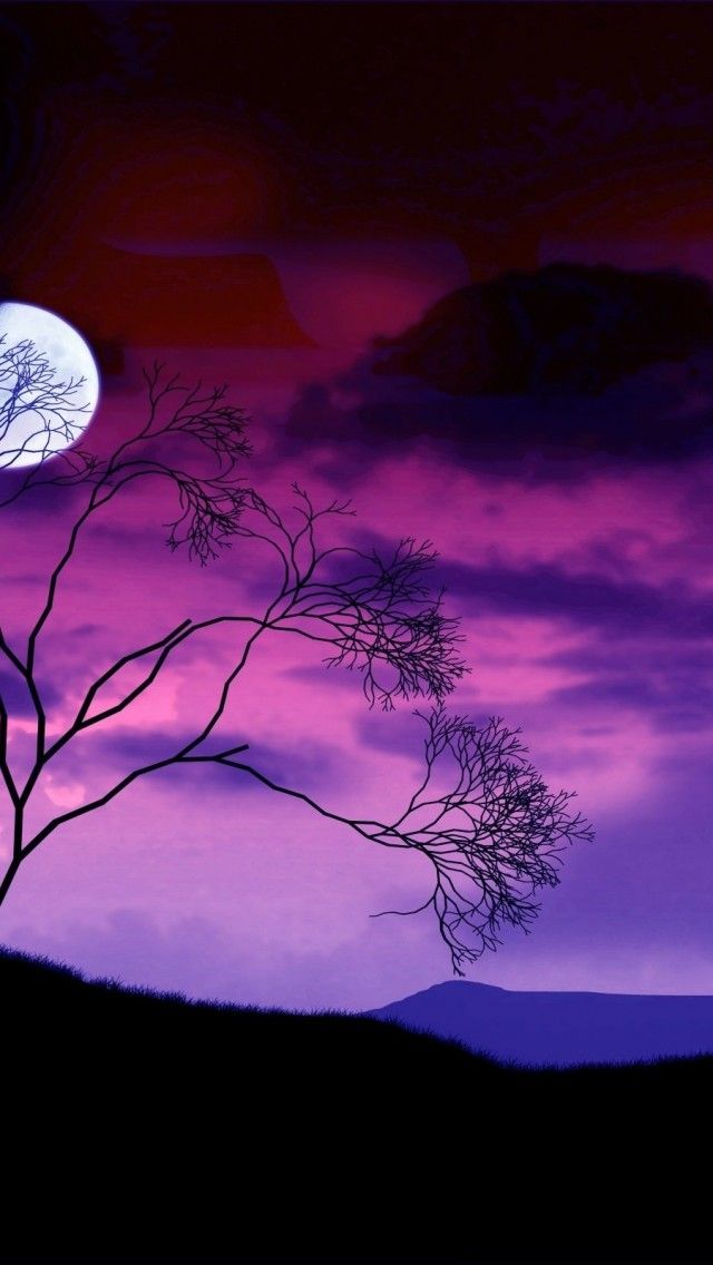 Beautiful Moon | Purple & Lavender | Pinterest | Beautiful ...