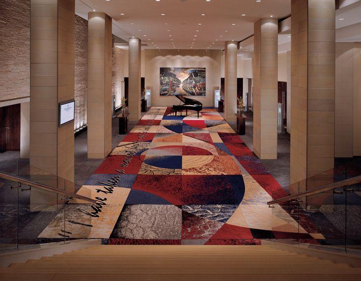 Westin Cape Town Ballroom Foyer. Interior design by Source Interior Brand Architecture.