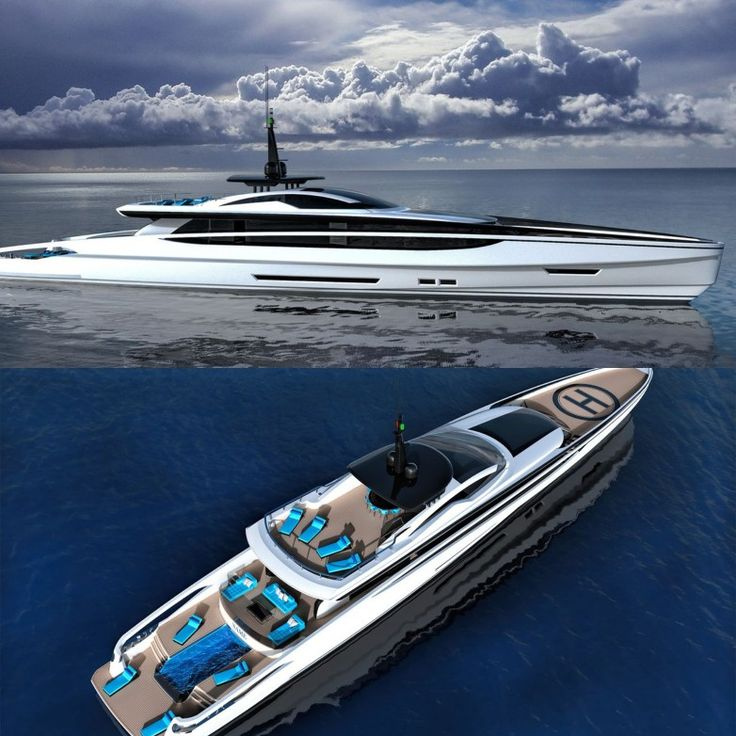 Fast Displacement XL-300 Sport by Federico Fiorentino Yacht Design and Van Oossanen
