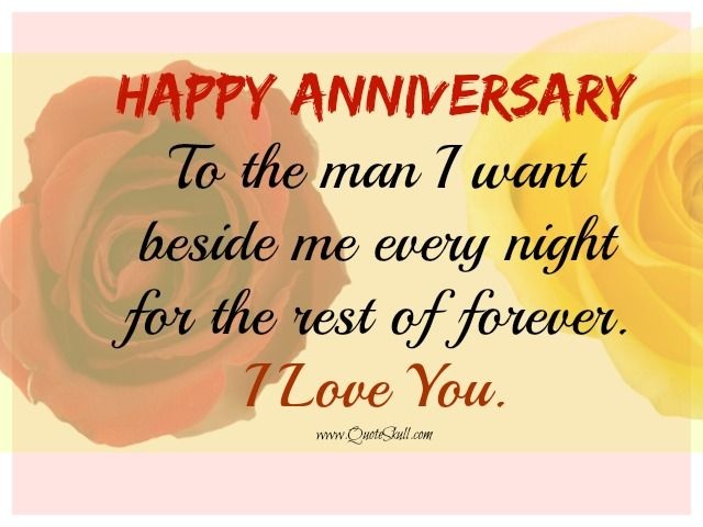 Hy Anniversary Quotes For Him First