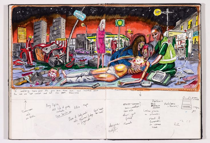 Grayson Perry Sketches