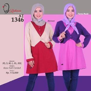 Baju Blus Wanita Rahnem Model AT1346 - Promo Ramadhan Sale