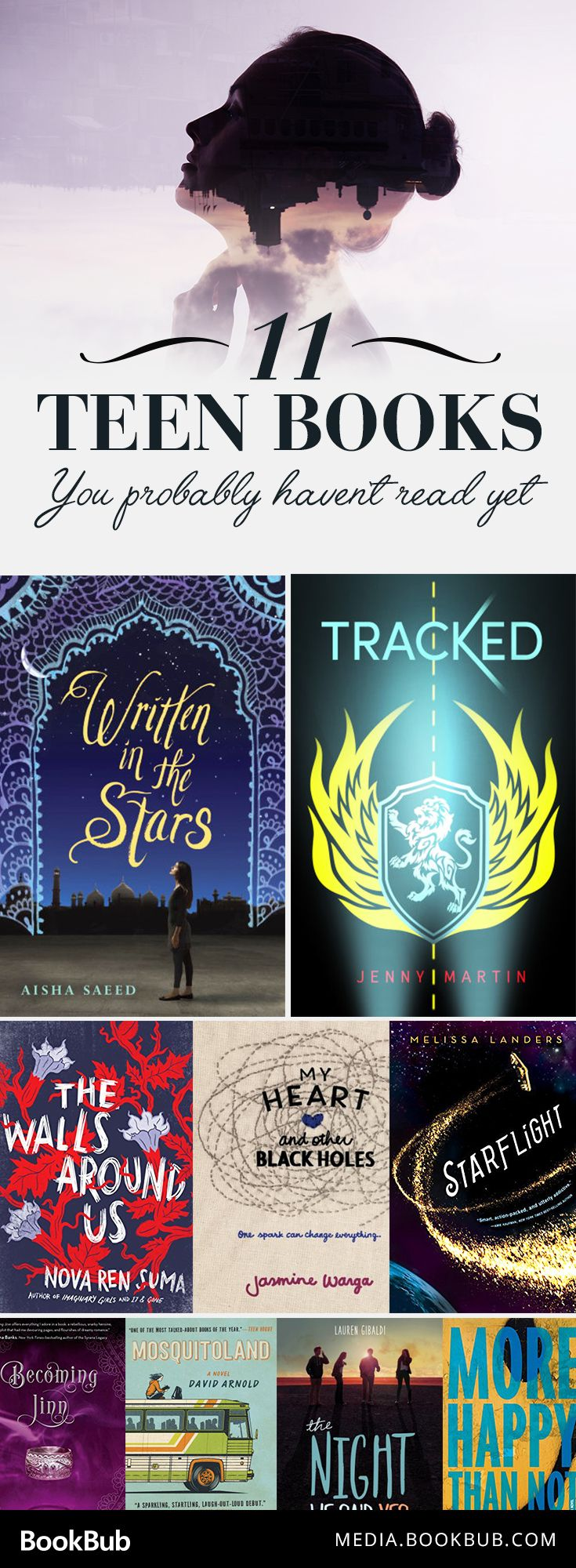 11 great books for teens. If you've already read The Hunger Games, The Fault in Our Stars, and Divergent, check out these books you might have missed.