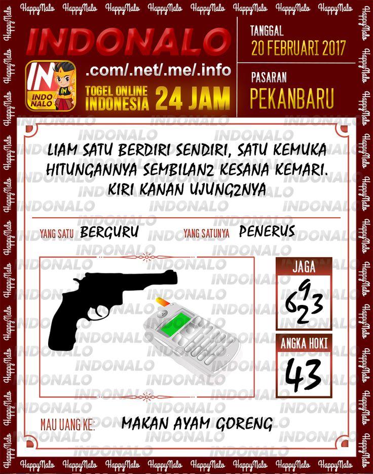Taysen Hoki 4D Togel Wap Online Live Draw 4D Indonalo Pekanbaru 20 Febuari 2017