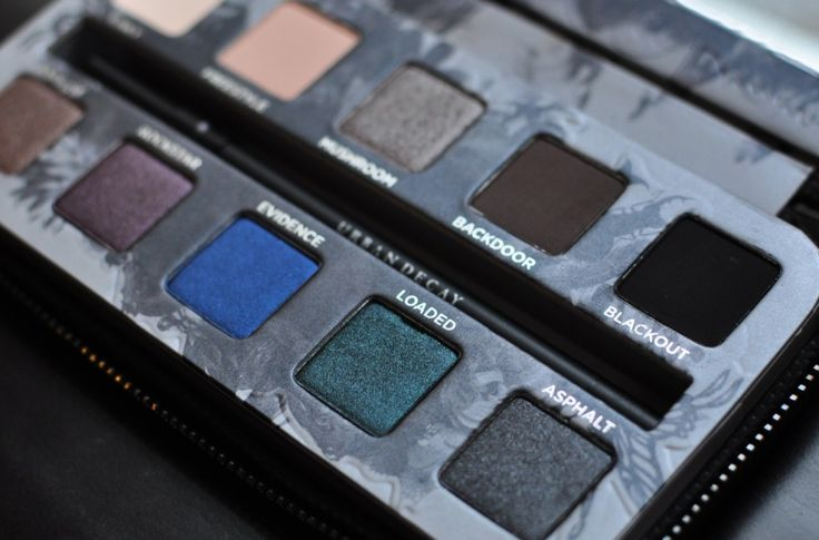Urban Decay Smoked Palette Swatches and Review
