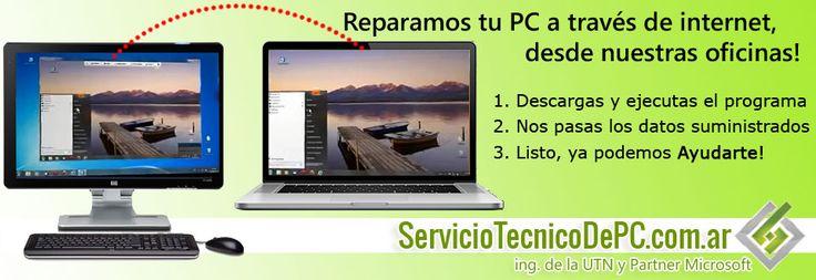 soporte tecnico pc notebooks online.