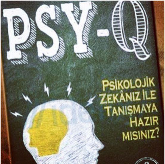 PSY-Q - Ben Ambridge   Kesinlikle mükemmel bir kitap. Sadece pazarlama, kişisel gelişim gibi konulara ilgi duyan kişileri değil herkesin severek okuyacağını ve çok fazla bilgi öğreneceğine eminim.   İşte Ben Ambridge'in kapağına 'Psikolojik zekanız ile tanışmaya hazır mısınız?' başlığı attığı etkileyici kitabı PSY-Q...