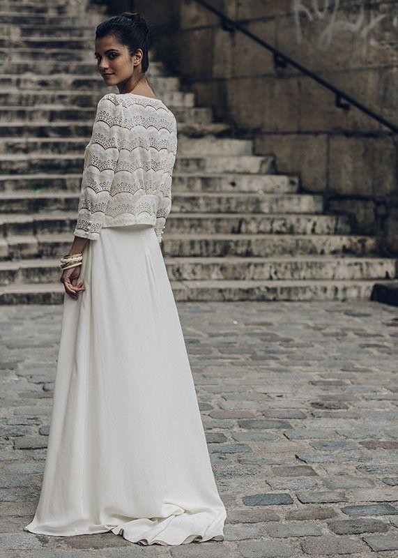 Collection Laure de Sagazan 2016- Veste La Fontaine portée sur la robe Malot