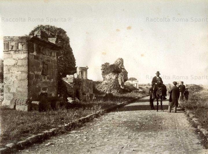 Via Appia Antica 1881