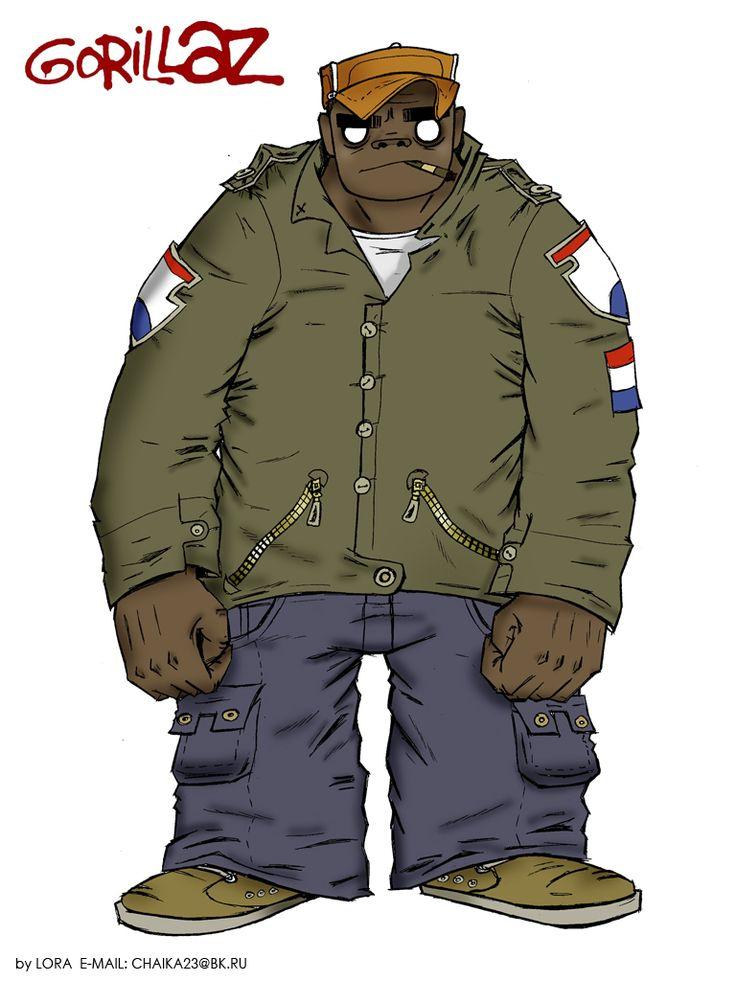 Gorillaz | Russel Hobbs
