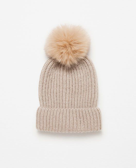 Pin for Later: 70 Stylish Stocking Fillers For Under £10 Zara Pom Pom Hat (£10)