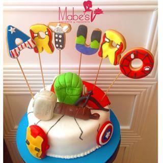 pastel de los avengers - Buscar con Google